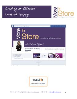 Facebook Fanpage eBook Cover 2014