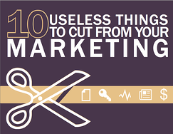 10 Useless Things to Cut From Your Marketing eBook Cover