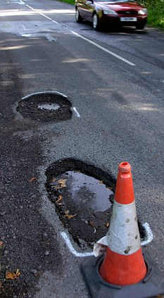 pot hole two